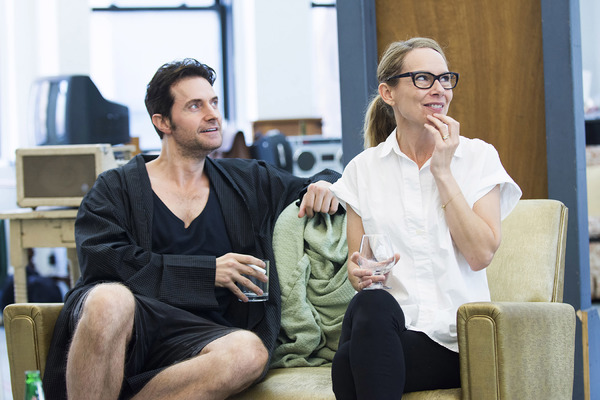 Richard Armitage and Amy Ryan